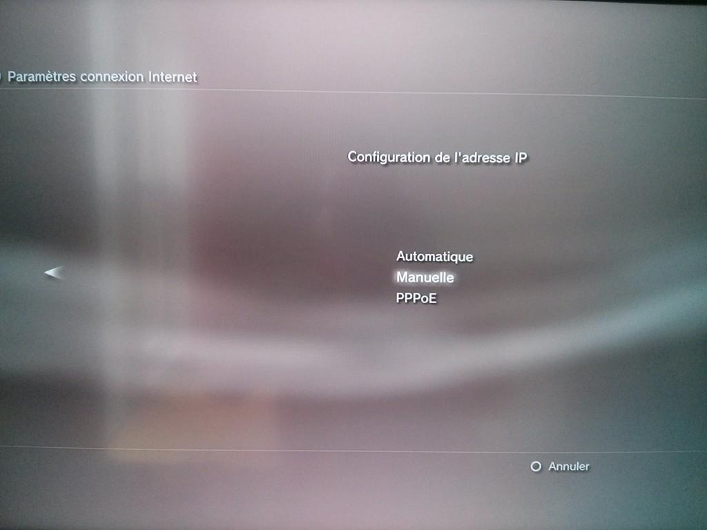 Configurez sa PS3 pour se connecter via un routeur vpn