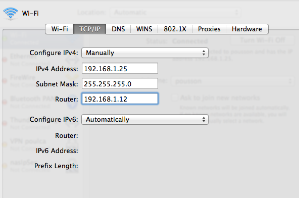 Configurez son Mac pour se connecter via un routeur vpn