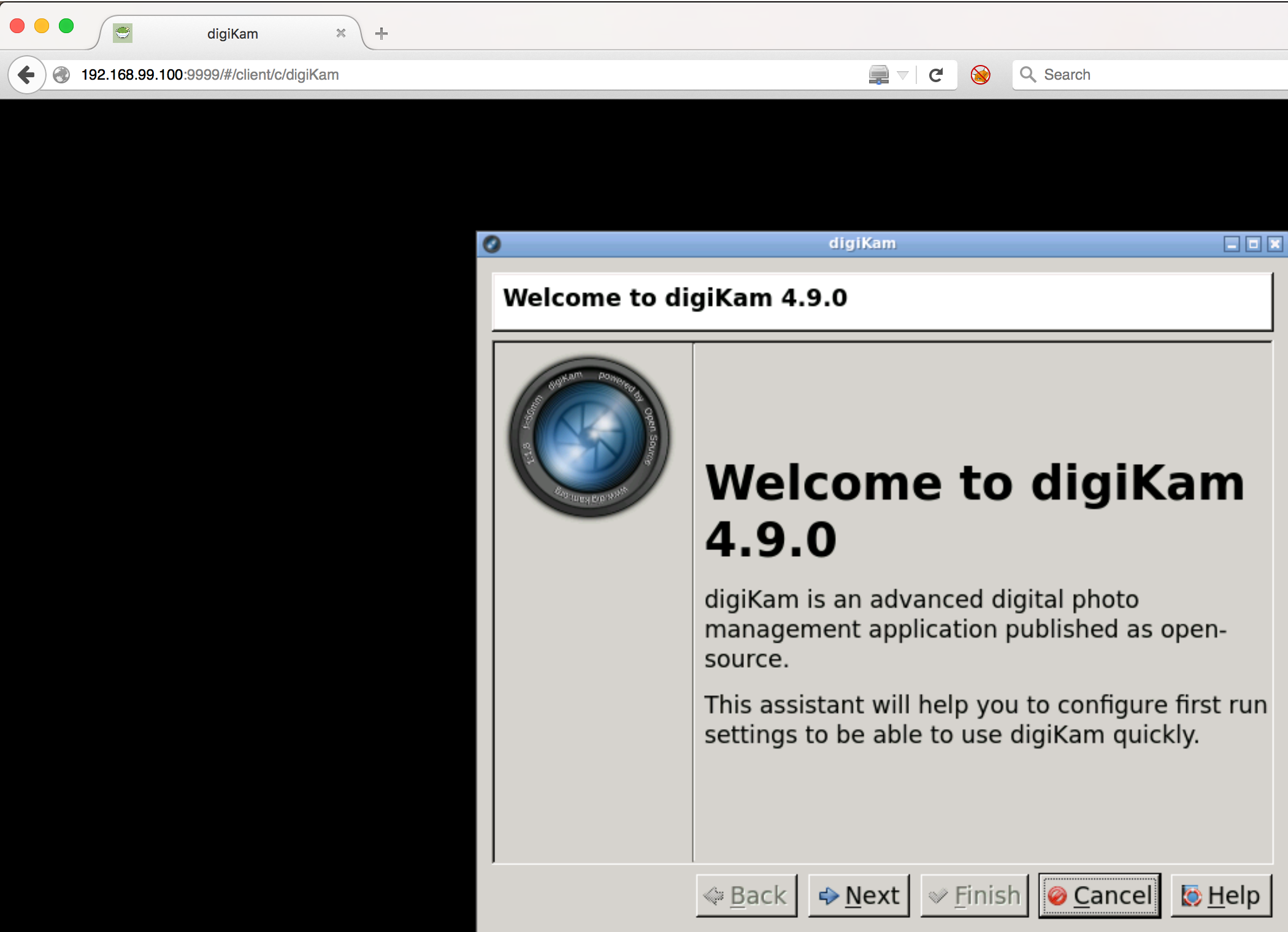 Digikam on Mac OS X or how to use Docker to run a graphical